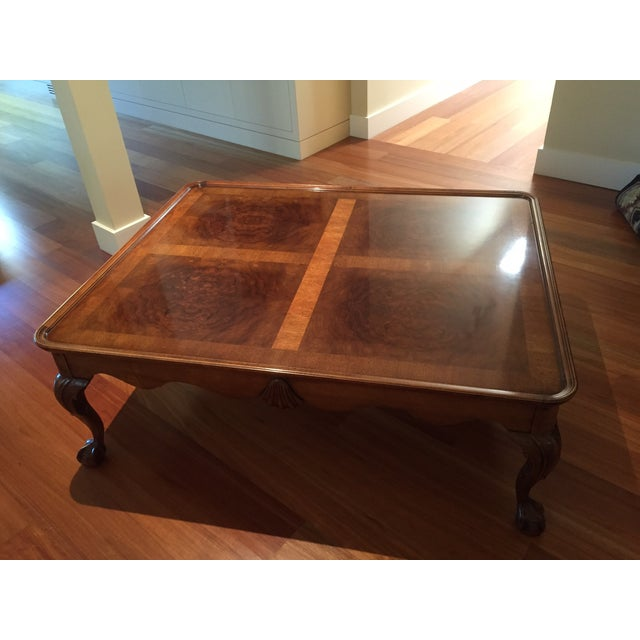 Chippendale Style Henredon Mahogany Coffee Table - Image 5 of 9