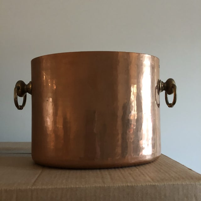 Copper Ice Bucket With Slots for 2 Bottles - Image 3 of 6