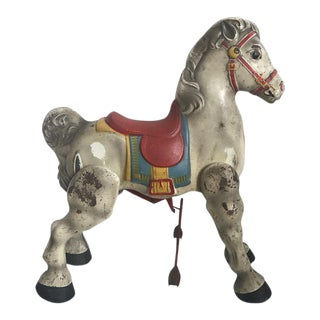 Toy Horse - Vintage English Child's Riding Horse
