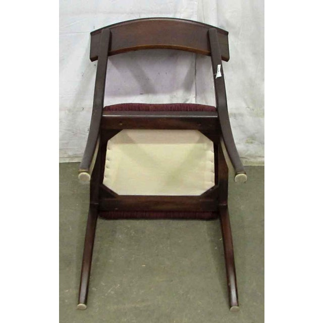 Set of 4 Solid Wood Dining Chairs - Image 7 of 9