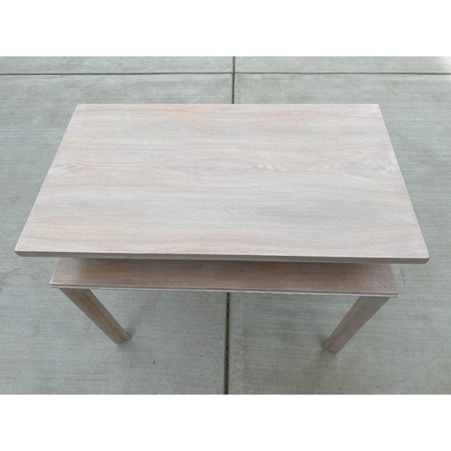 Whitewashed Side Table by Paul Frankl For Sale - Image 12 of 13