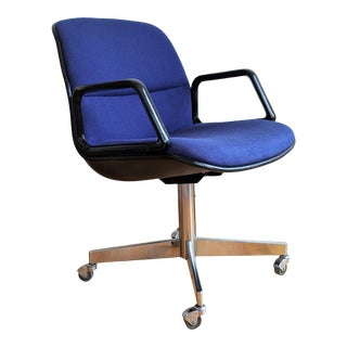 1970s Knoll Style Mid-Century Office Chair For Sale