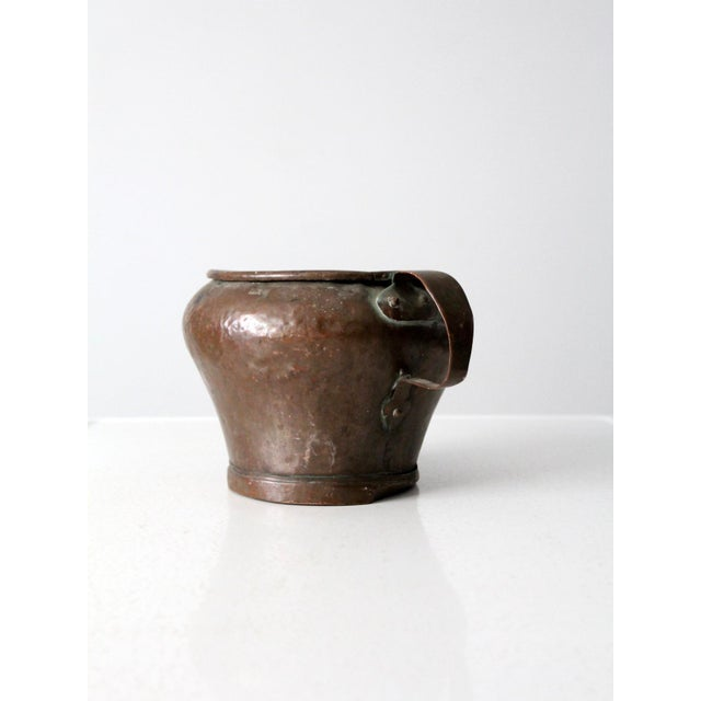 Late 19th Century Antique Copper Jug Pot For Sale - Image 5 of 13