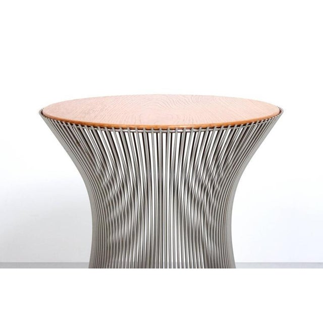 Chrome Pair of Side Tables by Warren Platner for Knoll For Sale - Image 7 of 11