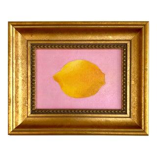 "Contemporary Original ""Pink Lemonade"" Acrylic Painting For Sale"