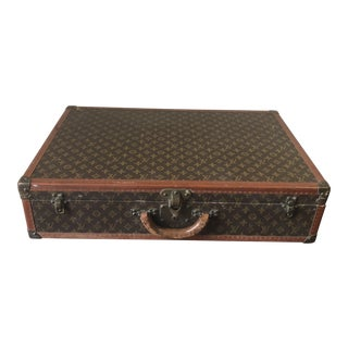 Antique Louis Vuitton Suitcase, Early 20th Century For Sale