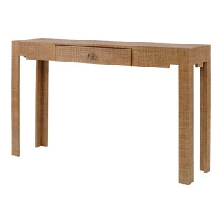 Century Furniture Charleston Console Table, Sand For Sale