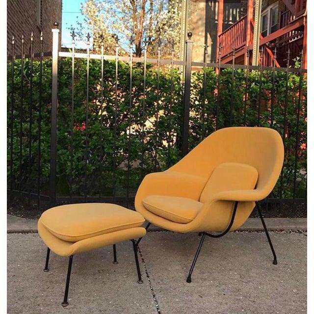 Eero Saarinen for Knoll Womb Chair & Ottoman - Image 2 of 10