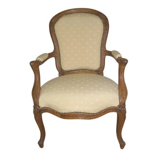 Vintage Louis XV Style Armchair For Sale