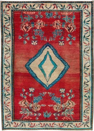 Image of Teal Contemporary Handmade Rugs