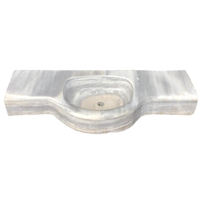 Turkey is renowned the world over for the quality and variety of marble coming from its mountains, and this piece is one...