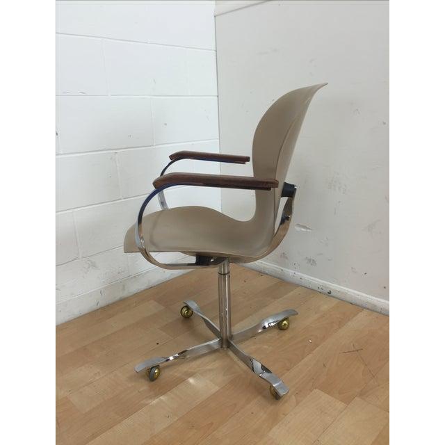 Mid-Century Gideon Kramer Ion Desk Chair - Image 4 of 11