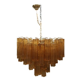 "Contemporary Murano Glass ""Tronchi"" Chandelier For Sale"
