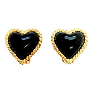 Hearts Earrings Kenneth Jay Lane For Sale