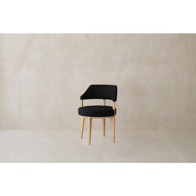 Mid-Century Modern Sibet Chair For Sale - Image 3 of 6