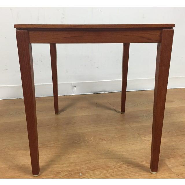 Silberg Mid-Century Danish Teak Side Table - Image 4 of 8