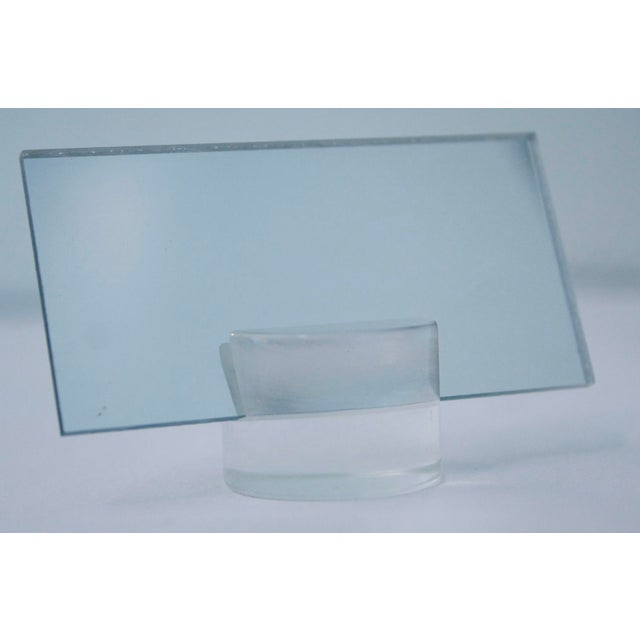1960s Lucite Dinner Place Cards with Stands - Set of 16 - Image 7 of 10
