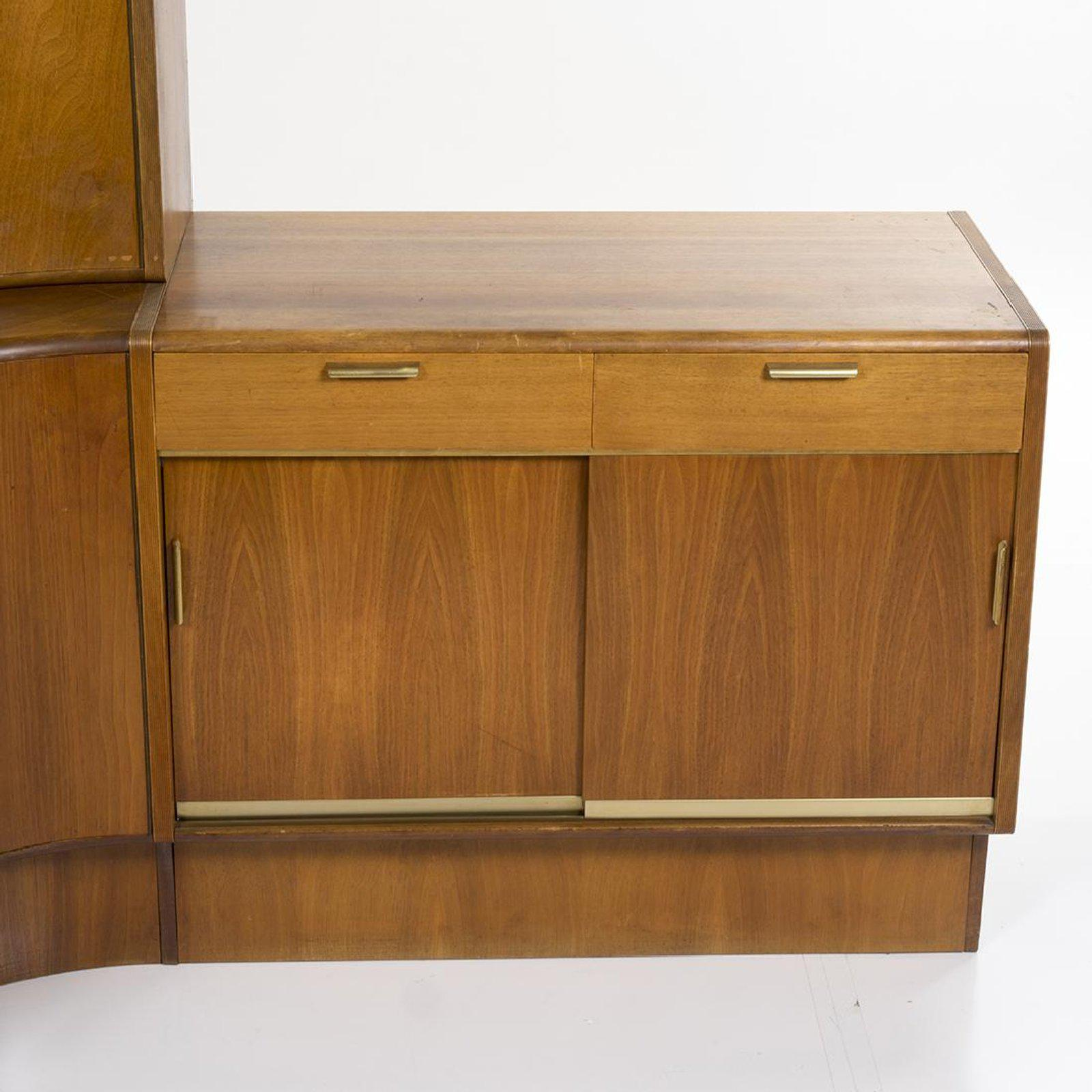 Mid 20th Century Danish Modern Teak Corner Desk U0026 Storage Unit For Sale    Image 5