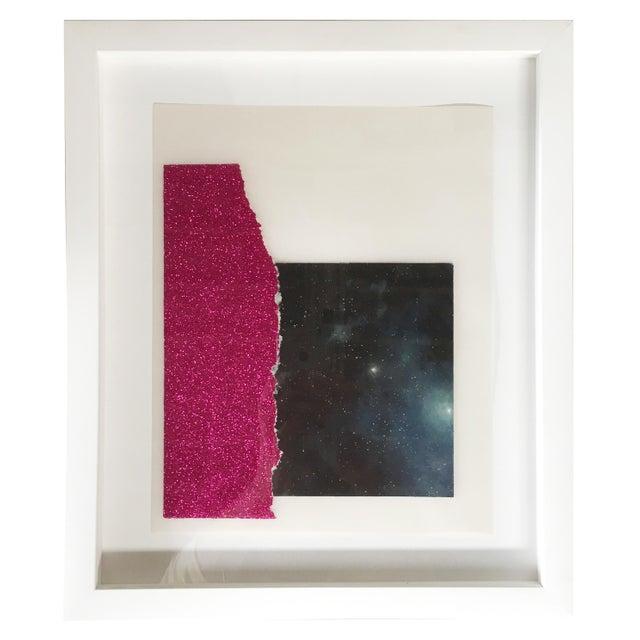 Kohl King Framed Mixed Media Collage - Image 1 of 2