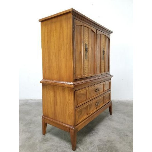 Dixie 1960s Dixie Mid-Century Highboy Dresser For Sale - Image 4 of 13
