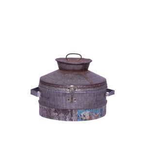 Clair Iron Lidded Box For Sale