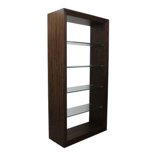 Macassar Shelving Unit For Sale