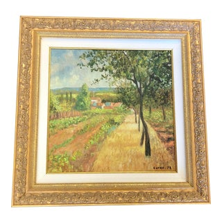 French Style Curnu Painting For Sale