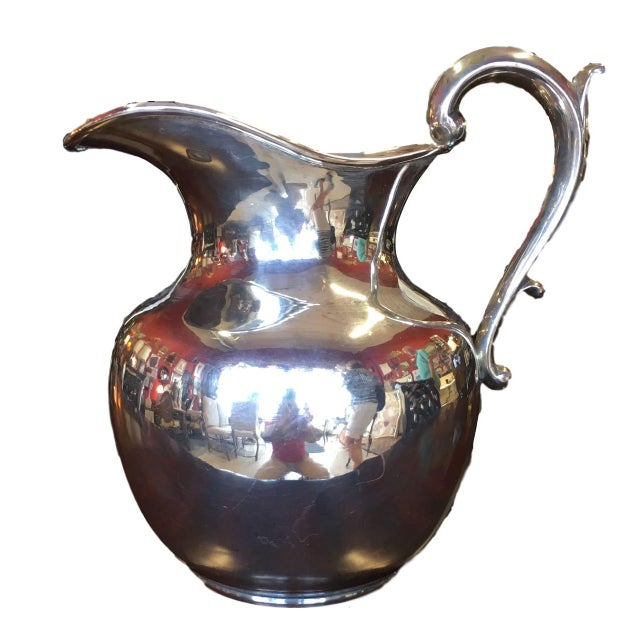 Silver Zurita Sterling Silver Pitcher For Sale - Image 8 of 8