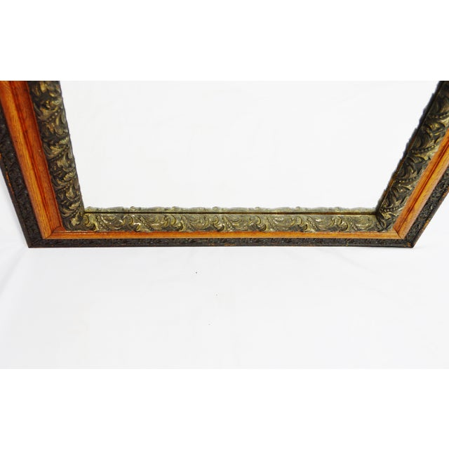Decorative Wood Gesso Mirror - Image 4 of 11