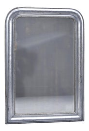 Image of Silver Mantel and Fireplace Mirrors