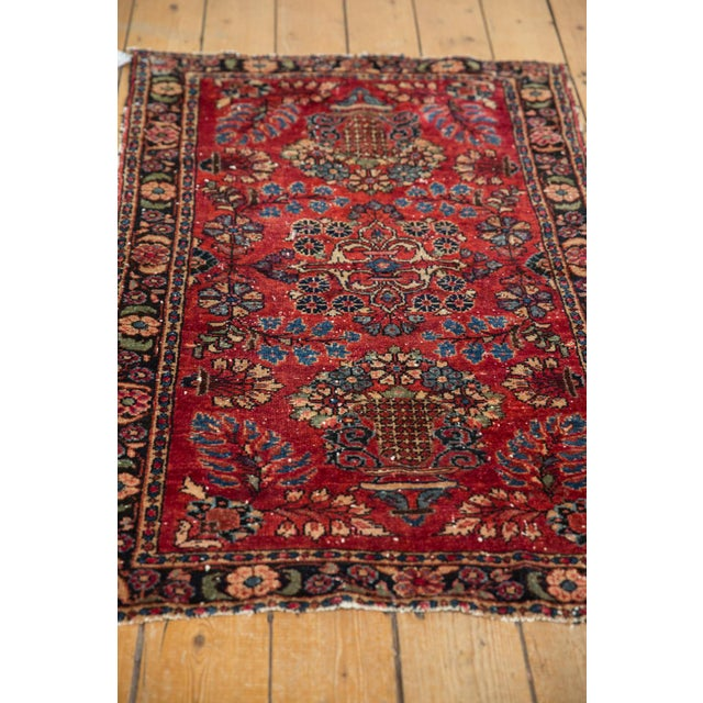 "Cotton Vintage Lilihan Rug - 2'8"" X 4'5"" For Sale - Image 7 of 12"