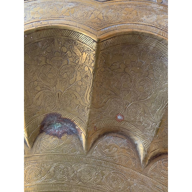 Round Moroccan Tray End Table For Sale - Image 10 of 13