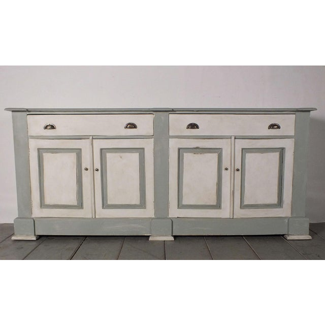 1970's French Country Painted Buffet - Image 2 of 10