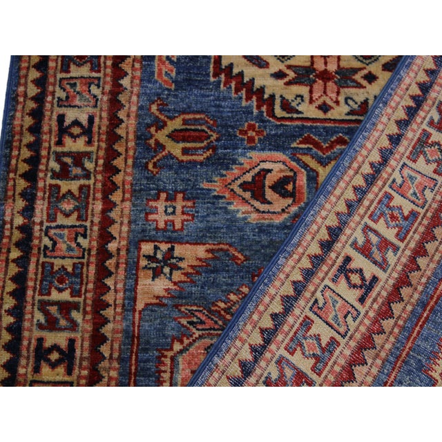 Textile Slyvia Hand-Knotted Wool Rug - 2′7″ × 6′4″ For Sale - Image 7 of 8