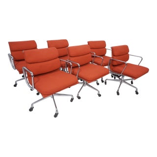 1980s Original Eames Herman Miller Chairs- Set of 6 For Sale