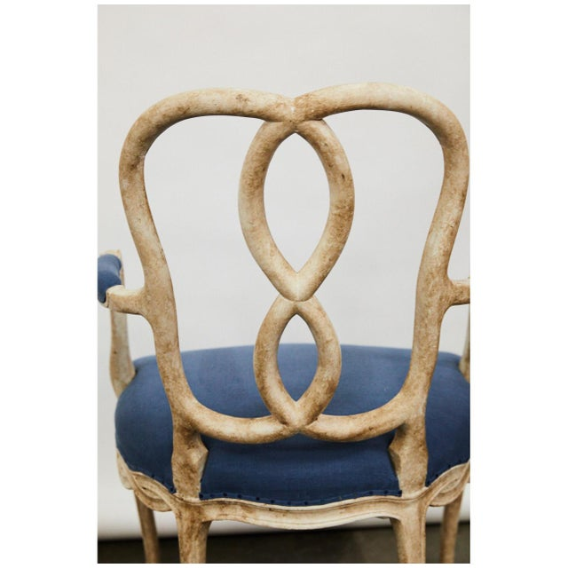 Pair of Bergere Chairs For Sale In Los Angeles - Image 6 of 9