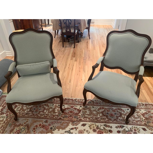 Ethan Allen Chantel Side Chairs - a Pair For Sale In New York - Image 6 of 6
