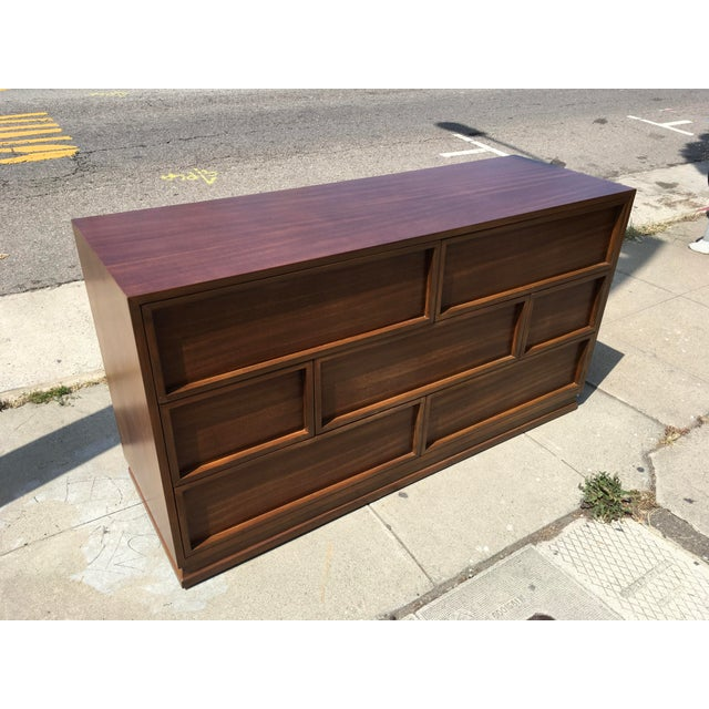 Gorgeous and unique seven drawer dresser by Triangle Brand Bedroom Furniture of Crane & McMahon Inc. St. Marys, Ohio...