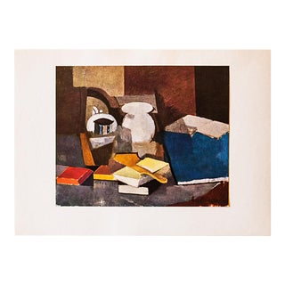 1947 Roger De La Fresnaye, Original Still Life Lithograph For Sale