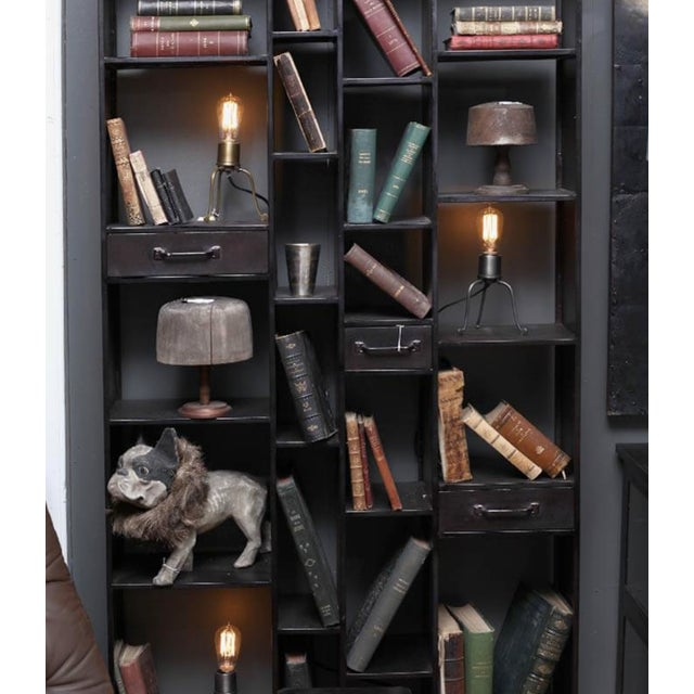 Abstract Brooklyn Bookshelves For Sale - Image 3 of 4