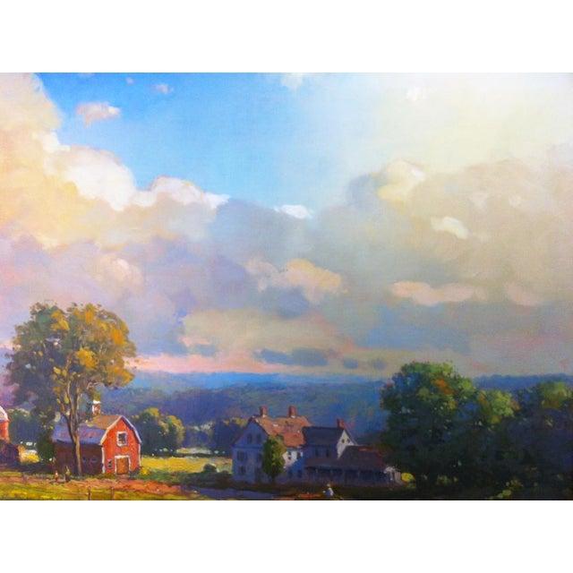1990s John C. Traynor, New England Farm, 1991 For Sale - Image 5 of 9