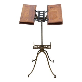 Ihling Bros. & Everard Music Stand or Book Holder For Sale