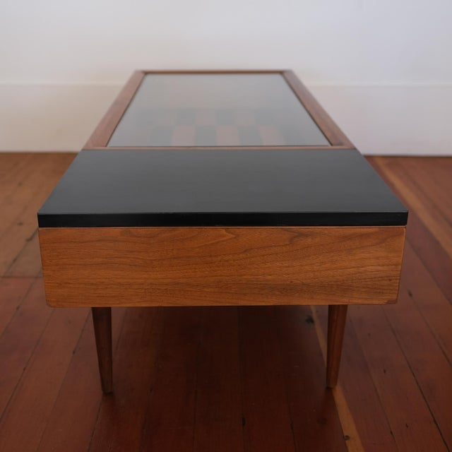1950s Vitrine Coffee Table by Stewart MacDougall for Glenn of California For Sale - Image 5 of 13