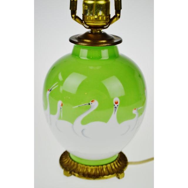 Vintage Morimura Bros. Noritake Vase Table Lamp - Image 6 of 11