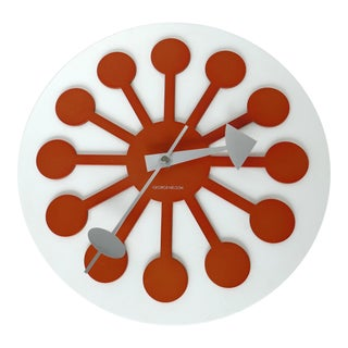 George Nelson Mod Mid-Century Modern Wall Clock For Sale