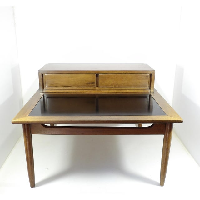 1950s Mid Century Modern American of Martinsville Sectional Sofa Divider Table For Sale - Image 12 of 12