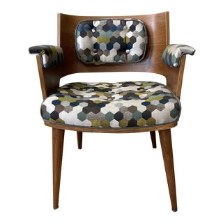 Mid Century Modern Bent Plywood Chair For Sale