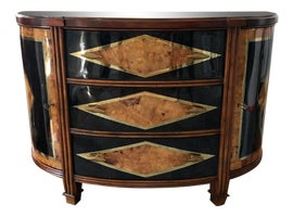 Image of Mid-Century Modern Demi-lune Tables