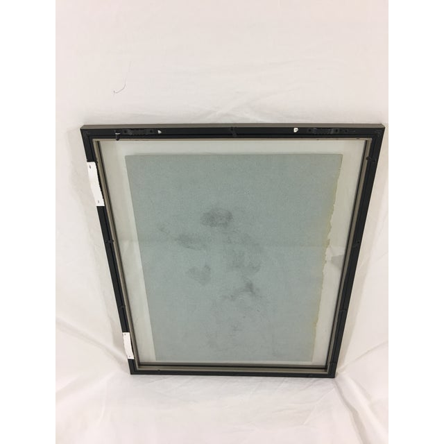 Late 19th Century 19th Century French Medical Drawing of Back of Male Figure For Sale - Image 5 of 6