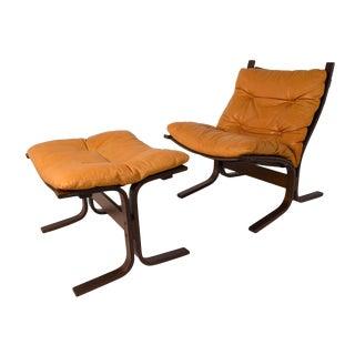 Ingmar Relling Siesta Chair With Foot Stool